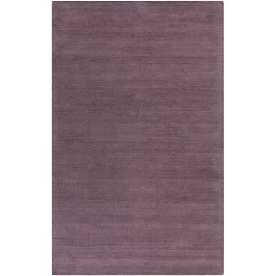 Naples Hand Woven Mauve Area Rug Rug Size: Rectangle 9 x 13