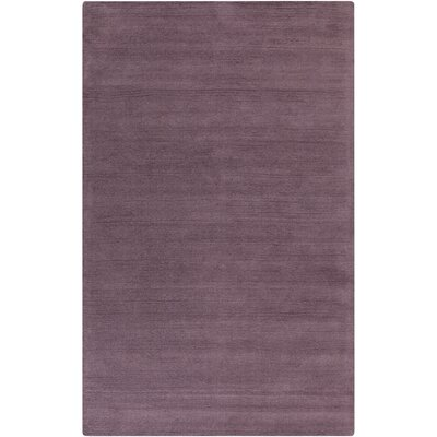 Maryport Mauve Solid Area Rug Rug Size: 2 x 3