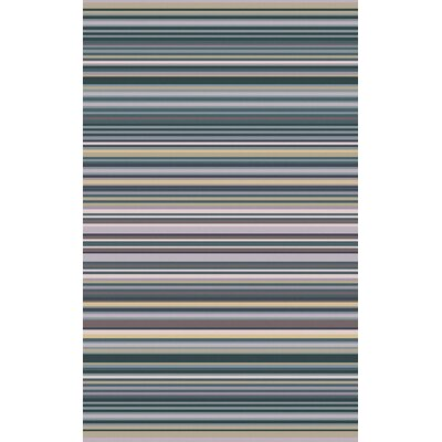 Bradley Stripe Area Rug Rug Size: Rectangle 5 x 8