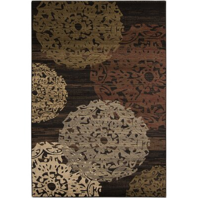 Acres Chocolate Flawless Rug Rug Size: 10 x 13