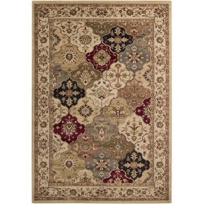 Acres Oriental Multi Area Rug Rug Size: 53 x 76