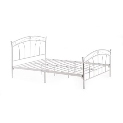 Strafford Panel Bed Finish: White, Size: Twin