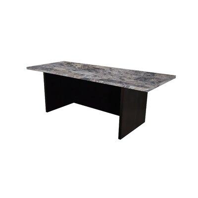 Sullivan 12 H x 36 W Standing Desk Conversion Unit Finish: Faux Marble