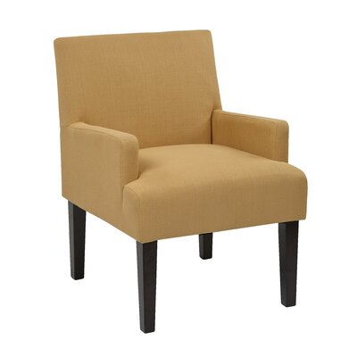Guest Arm Chair Color: Woven Wheat