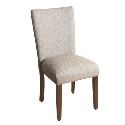 Rebersburg Parsons Chair Upholstery: Glenbrier Tweed