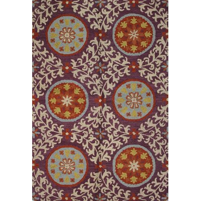 Sanda Lilac Rug Rug Size: Rectangle 86 x 116