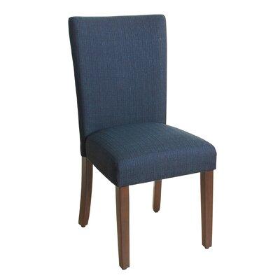 Rebersburg Parsons Chair Upholstery: Everly Oceanside