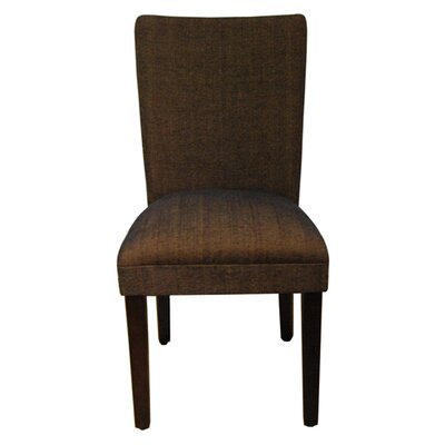 Tenbury Classic Upholstered Parsons Chair Upholstery: Brown