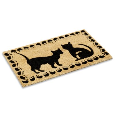 Tennyson Cat at Play Doormat