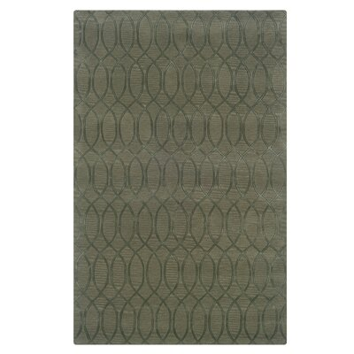 Jaqueline Hand-Tufted Gray Area Rug Rug Size: Rectangle 110 x 210