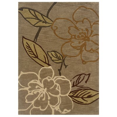 Marisela Hand-Tufted Beige Area Rug Rug Size: Rectangle 110 x 210