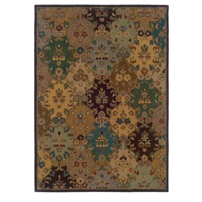 Belgrave Falls Hand-Tufted Brown Area Rug