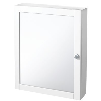 Sari 19 x 23.88 Surface Mount Medicine Cabinet Finish: White