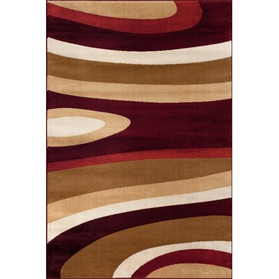 Alexandrea Multi-Colored Area Rug Rug Size: 53 x 73