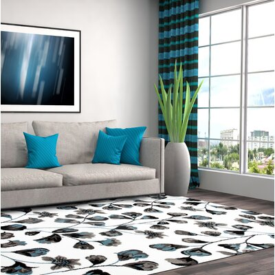 Waconia Blue/White Area Rug Rug Size: 710 x 102