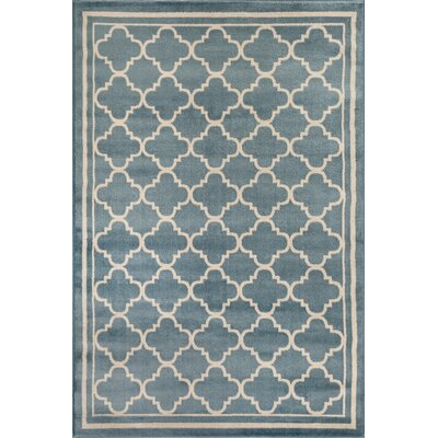 Waconia Blue Area Rug Rug Size: Rectangle 53 x 73