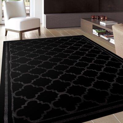 Waconia Black Area Rug Rug Size: 710 x 102
