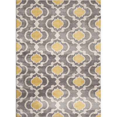 Melrose Gray Area Rug Rug Size: Rectangle 9 x 12