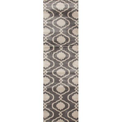 Coffman Gray Area Rug Rug Size: Runner 2 x 72