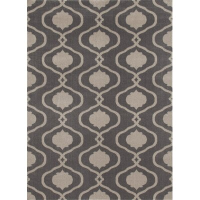 Coffman Gray Area Rug Rug Size: Rectangle 33 x 53