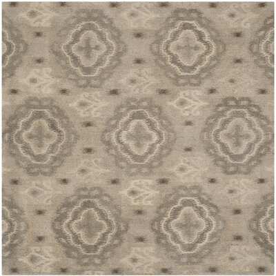 Evansville Brown Area Rug Rug Size: Square 7