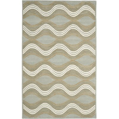 Cateline Blue Area Rug Rug Size: 6 x 9