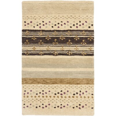 Matthews Ivory Area Rug Rug Size: Rectangle 2'6