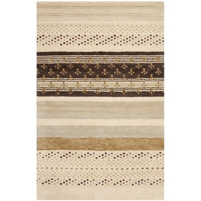 Matthews Ivory Area Rug Rug Size: Rectangle 2 x 3