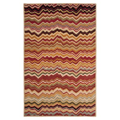 Tanner Red / Multi Rug Rug Size: Rectangle 4 x 6