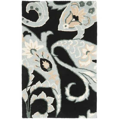 Matthews Black / Multi Rug Rug Size: Rectangle 4 x 6