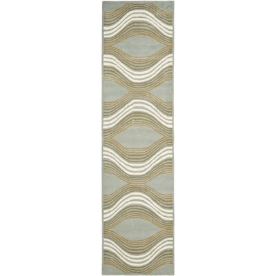 Cateline Blue / Multi Rug Rug Size: Runner 23 x 9
