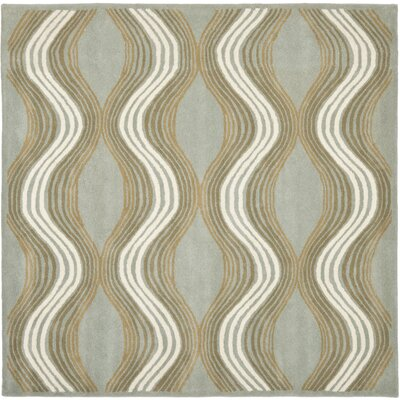 Cateline Blue / Multi Rug Rug Size: Square 7
