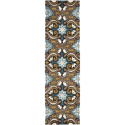 Matthews Blue / Multi Rug Rug Size: Runner 23 x 9