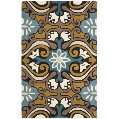 Matthews Blue / Multi Rug Rug Size: Rectangle 26 x 4