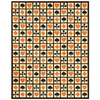 Erie Hearts Novelty Rug Rug Size: 39 x 59