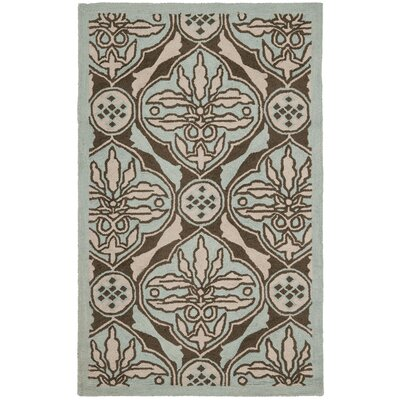 Martin Brown / Blue Area Rug Rug Size: Rectangle 26 x 4