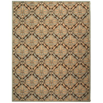 Martin Brown / Blue Area Rug Rug Size: Rectangle 53 x 83
