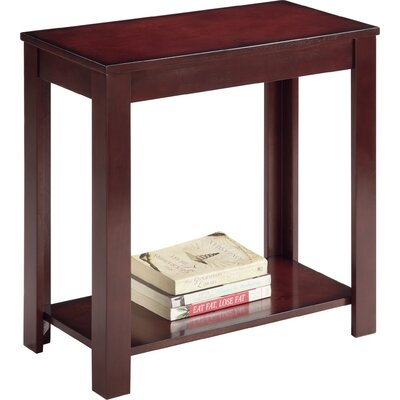 Waterloo End Table Color: Mahogany