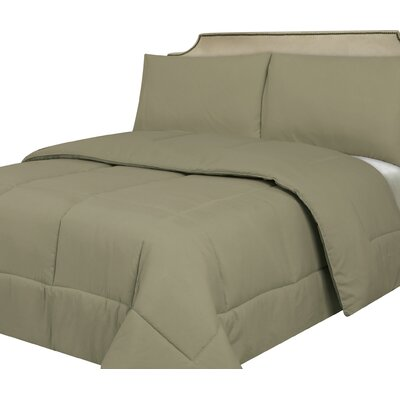 Waveland Comforter Size: Queen, Color: Sage