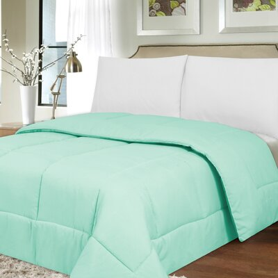 Waveland Comforter Size: King, Color: Mint