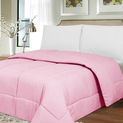 Waveland Comforter Size: King, Color: Pink