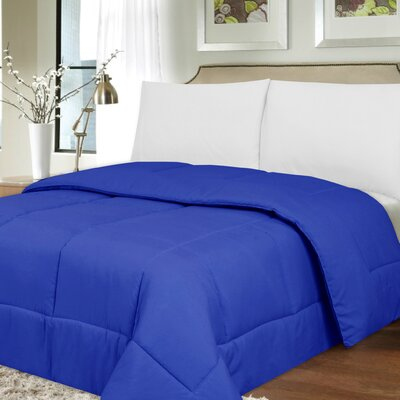 Waveland Comforter Size: King, Color: Royal Blue