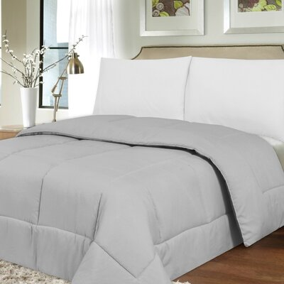 Waveland Comforter Size: King, Color: Silver