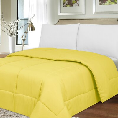 Waveland Comforter Size: King, Color: Yellow