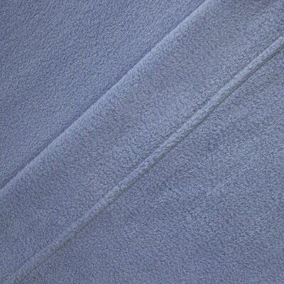 Wellesley Micro Fleece Sheet Set Color: Wedgewood, Size: Full