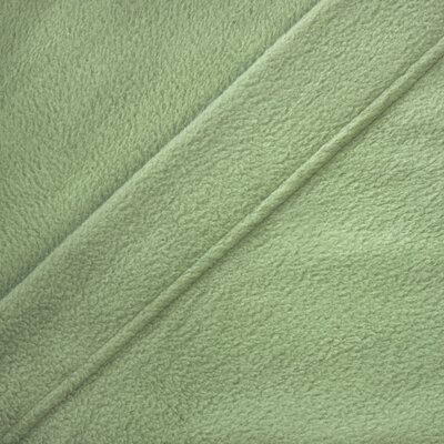 Wellesley Micro Fleece Sheet Set Color: Sage, Size: Queen