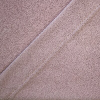 Wellesley Micro Fleece Sheet Set Color: Rose, Size: Twin