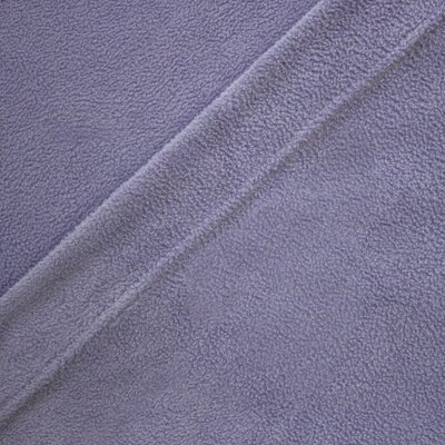 Wellesley Micro Fleece Sheet Set Color: Eggplant, Size: Queen