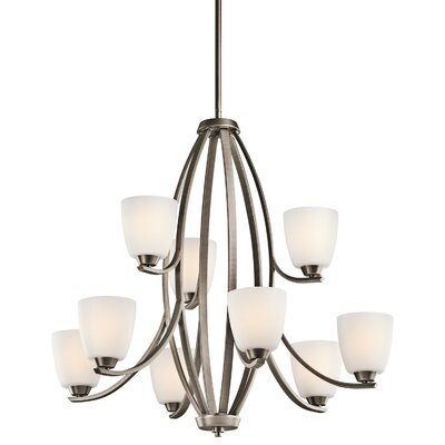 Rutledge 9-Light Shaded Chandelier