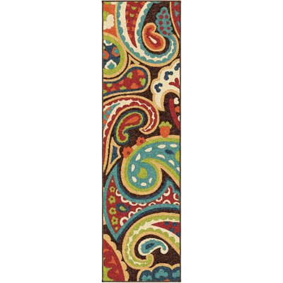 Alayna Brown Indoor/Outdoor Area Rug Rug Size: Rectangle 78 x 1010